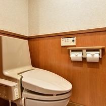 *[二間続き一例]全室洗浄機能付トイレを完備しております