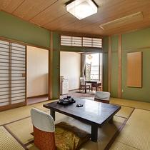 *[スタンダード和室一例]落ち着いた雰囲気の和室8~12畳(ユニットバス付)のスタンダードな客室