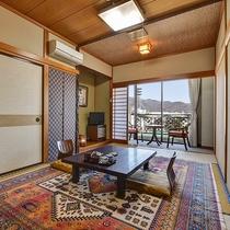 *[スタンダード和室一例]シンプルながらも清潔感があり落ち着いた雰囲気の客室です