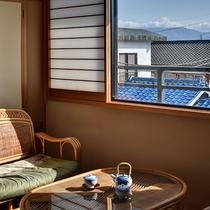 *[二間続き一例]富士山を望める客室も一部ございます
