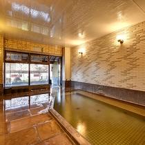 *[大浴場(女湯)]保湿・保温効果◎微量ながらラドン含有の天然温泉