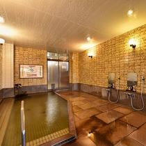 *[大浴場(女湯)]源泉成分を壊さないよう40度前後に加温してあるため長湯でお愉しみいただけます