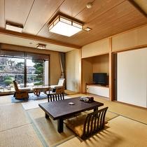 *[庭側和室一例]広縁も広々♪当館自慢の庭園を望める★和室15~20畳の数寄屋造りの客室