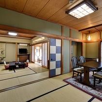 *[庭側和室一例]和室15~20畳(洗い場付バスルーム&トイレ付)の数寄屋造りの客室