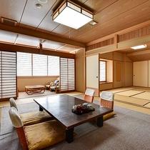 *[二間続き一例]当館で一番広い★和室16~20畳の二間つづきの客室