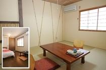 客室6畳(和室6畳、又はツインルーム)
