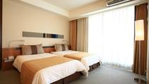 ○ジュニアスイート 寝室