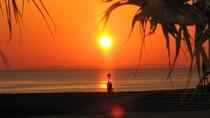 〇サンセットビーチ:夕日