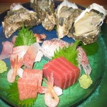 牡蠣・刺身一盛