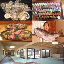 牡蠣と鮨・造りとナメラ親方・中玄関