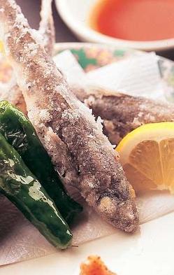【梅膳 板長おまかせ。季節の海鮮割烹】旬の食材!個室食でお食事!海鮮しゃぶ(4〜10月)めひかり唐揚