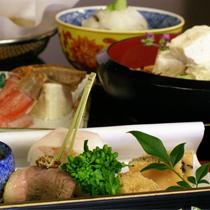 京野菜と湯葉をメインとした京会席【2010.12月イメージ】