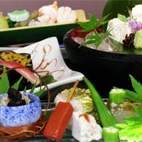 京野菜と湯葉をメインとした京会席!!生湯葉のお造りが絶品!!【2012.7月イメージ】