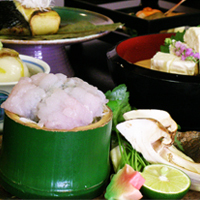 京野菜と湯葉をメインとした京会席【2011.9月イメージ】