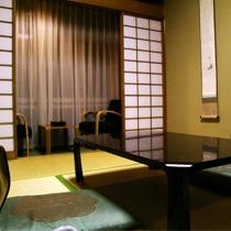 ごくベーシックな造りの和室となっております。和室6畳のお部屋【一例】2007.1月撮影