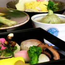 毎月メニューの変わる京会席【2011.3月イメージ】