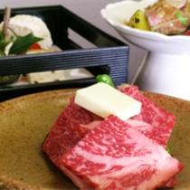 国産霜降り牛をメインとした京会席【2012.2月イメージ】