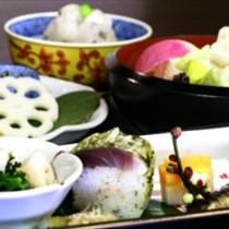 京野菜と湯葉をメインとした京会席!!生湯葉のお造りが絶品!!【2013.2月イメージ】