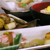 京野菜と湯葉をメインとした京会席【2011.11月イメージ】
