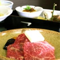 国産霜降り牛をメインとした京会席【2014.1月イメージ】