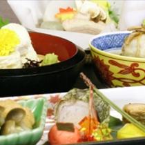 京野菜と湯葉をメインとした京会席!!生湯葉のお造りが絶品!!【2012.11月イメージ】
