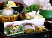京野菜と湯葉をメインとした京会席【2010.10月イメージ】