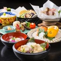 京野菜と湯葉をメインとした京会席!!生湯葉のお造りが絶品!!【2016.1月イメージ】