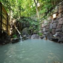 ■貸切露天風呂(昼)