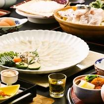 ■長崎県産のとらふぐを使った『河豚会席』