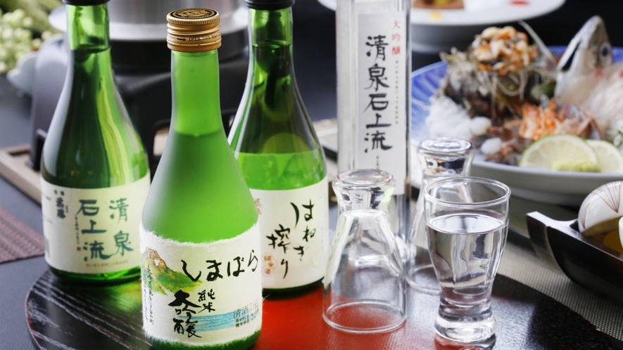 長崎・島原でしか味わう事の出来ない地酒をお楽しみください♪銘柄はお楽しみに!