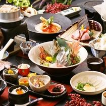 ■【夕食グレードUP】秋の華やぎ御膳(9月~11月)一例