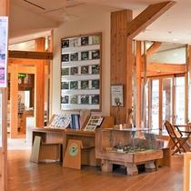 <お山の情報館>当館より歩いて10分。雲仙の自然・温泉・歴史などの最新情が分かります。