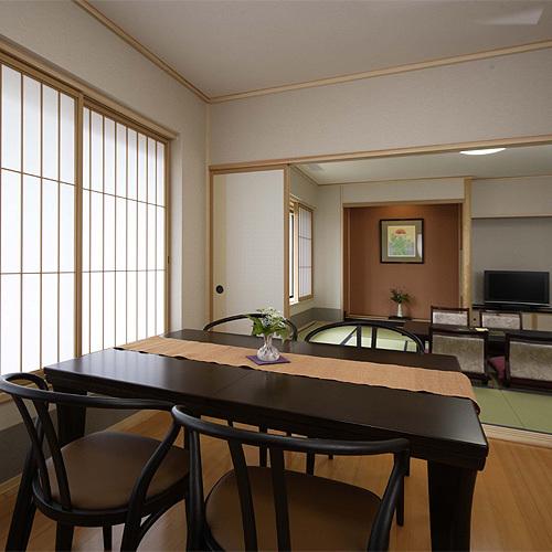 08年OPEN【湯美人倶楽部】ダイニング付和室54平米・禁煙