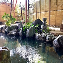 庭園大浴場「殿の湯」大岩露天風呂