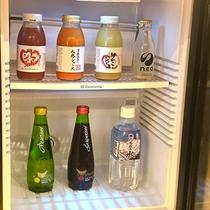 GENJI香フロア専用ラウンジ冷蔵庫