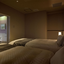 雅亭コンフォート[和室+洋室]ベッドルーム