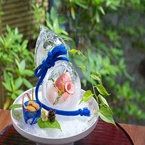 GENJI香夕食「瓢箪氷鉢」