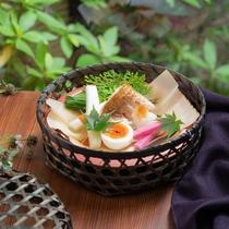GENJI香宿泊プラン 夕食お魚料理