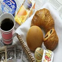 軽朝食「焼きたてパンボックス」