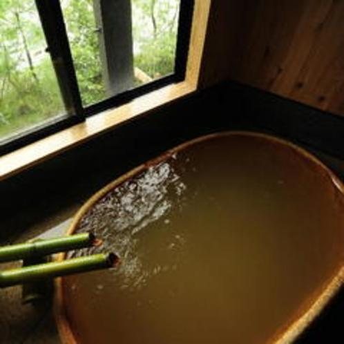 濃厚な湯質が◎ 貸切風呂