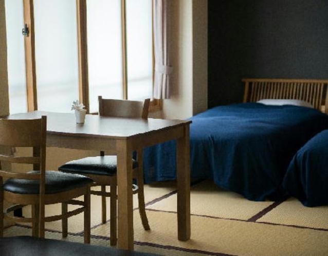 和室16帖山側和ベッドタイプ 3階客室 <羽黒>