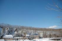 外観全景ー雪化粧