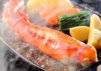 タラバ蟹のステーキ