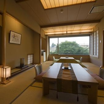 『別館』2・3F富士山展望風呂付和室10畳 +広縁(炬燵)