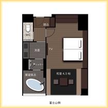 『別館』4階富士展望風呂付和洋室 2021年4月新設