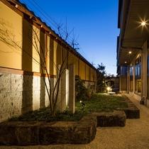 ウェルカムラウンジ 「ひと息つける宿」が当館のコンセプト