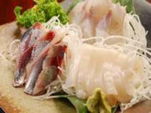 <こだわり食材獲れたて旬の魚がメイン★お刺身プラン> 2食付き