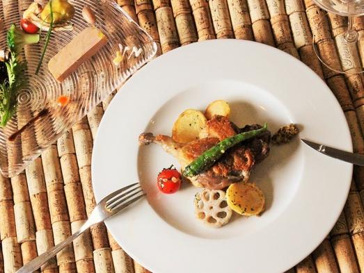 【スタンダード】南房総フレンチコース「ニース」ディナー付きプラン(1泊2食付)
