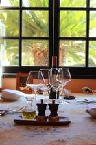南仏風レストランでのんびりとお食事