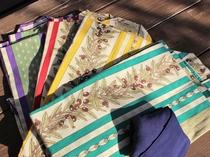 プロヴァンス伝統モチーフの浴衣。S~LLサイズまで♪